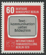 BERL 600  postfrisch