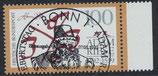 BRD 1612 gestempelt mit Bogenrand rechts
