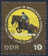 DDR 1133  philat. Stempel