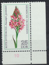 BRD 2137 postfrisch mit Eckrand rechts unten