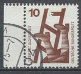BRD 685 gestempelt Bogenrand links