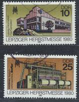 DDR 2539-2540  philat. Stempel (1)