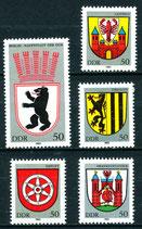 2817-2821 postfrisch (DDR)