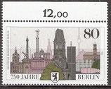 776 postfrisch mit Oberrand (RWZ 12,00) (BERL)