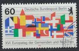BERL 758 gestempelt