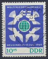 DDR 1122  philat. Stempel