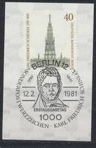 BERL 640   mit Ersttagssonderstempel