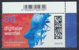 BRD 3590 postfrisch mit Eckrand rechts oben