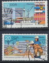 DDR 2424-2425 philat. Stempel