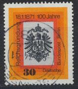 BERL 385 gestempelt