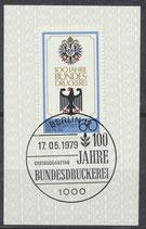 BERL 598  gestempelt mit Ersttagssonderstempel