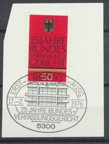 BRD 879 mit Ersttagssonderstempel