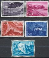 381-385  postfrisch (LIE)