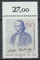 879 postfrisch Bogenrand oben (RWZ 27,00 (BERL)