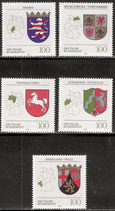 1660-1664 postfrisch (BRD)