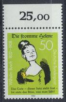 BRD 1129 postfrisch mit Bogenrand oben