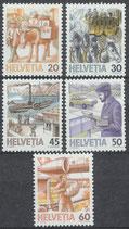 1340-1344 postfrisch (CH)