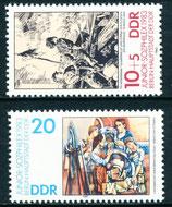 2812-2813 postfrisch (DDR)