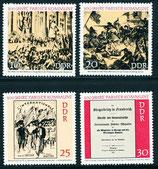 1655-1658 postfrisch (DDR)