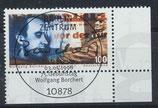 BRD 1858 gestempelt mit Eckrand rechts unten