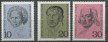 616-618  postfrisch  (BRD)