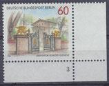 BERL 762 postfrisch Eckrand rechts unten Formnummer 3