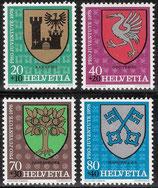 1142-1145 postfrisch (CH)