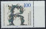 BRD 1446 postfrisch mit Bogenrand rechts