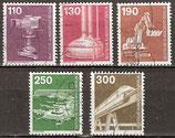 BERL 668-672 gestempelt