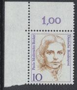 BRD 1359 postfrisch mit Eckrand links oben