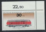 BRD 836 postfrisch mit Eckrand rechts oben