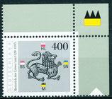 1805 postfrisch Eckrand rechts oben (BRD)
