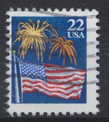 USA 1882 A gestempelt