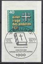 BERL 548  gestempelt mit Ersttagssonderstempel
