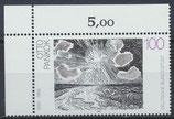 BRD 1657 postfrisch Eckrand links oben