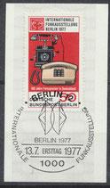 BERL 549 gestempelt mit Ersttagssonderstempel