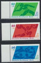 BERL 621-623 postfrisch mit Bogenrand links