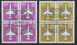 DDR 3128-3129  philat. Stempel Viererblöcke