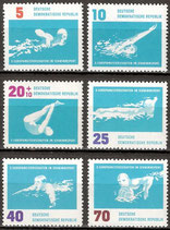 907-912 postfrisch (DDR)