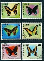 1802-1807 gestempelt (CU-Schmetterlinge)