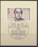 BERL 846  mit Ersttagssonderstempel