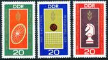 1491-1493 postfrisch (DDR)