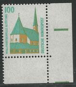 1406   postfrisch Eckrand rechts unten (BRD