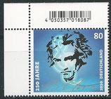 BRD 3513 postfrisch mit Eckrand rechts oben