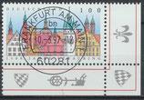 1910 gestempelt Eckrand rechts unten (BRD)