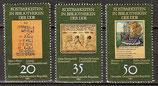 2636-2638 postfrisch (DDR)