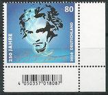 BRD 3513 postfrisch mit Eckrand rechts unten