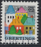 USA 1857 gestempelt