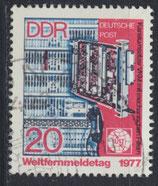 DDR 2223 philat. Stempel