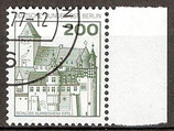BERL 540 gestempelt Bogenrand rechts